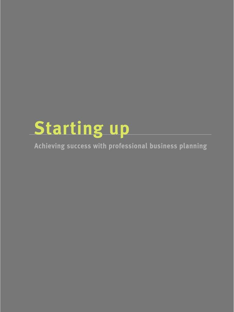 Business plan mckinsey