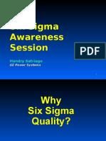 Six Sigma Awareness.shorT