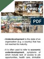 Underdevelopment(Presentation Ni Os)