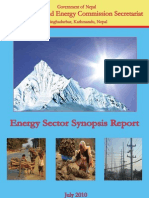 Energy Synopsis Report 2010