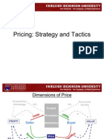 #4 Pricing Strategy & Tactics