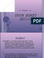 Union Budget 2011 - Vishnu