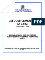18.3 Regime Jurídico dos Servidores Públicos Civis do Estado do Espírito Santo