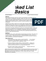 Linked List Basics
