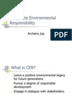 6 Corporate Environmental Responsibility