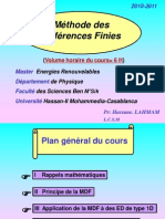 Cours MDF Master+Energies+Renouvelables