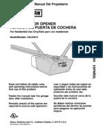 Craftsman Garage Door Opener 139.53910 Manual