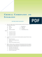 Chemical Coordination Mcq
