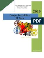 Reporte Del Campo Petrolifero El Toco
