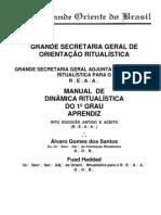 Manual de Ritualistic A Grau 1