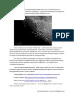 Astrofotografia Lunar