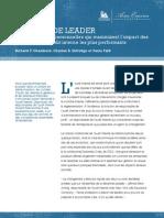Les sept qualités personnelles qui maximisent l'impact des directeurs de l'audit interne