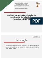 Apresentação Margules e UNIFAC pronto