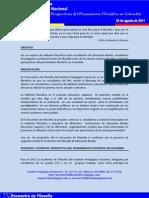 PRESENTACIÓN DEL IV ENCUENTRO DE FILOSOFIA IPN 2