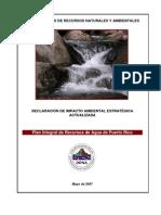 Plan Integral de Recursos de Agua de PR 2007 Copy
