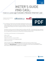 The Marketers Guide to Applying CASL