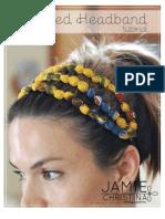 Beaded Headband Tutorial