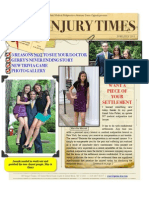 New Online Newsletter Now Available! NY Injury Times-June-July 2011