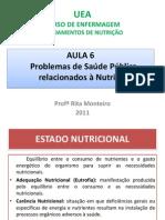 Aula 6 Problemas de Sade Pblica dos Nutrio