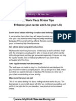 Stress Tips for Busy Professionals