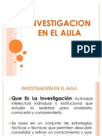 Investigacion en El Aula 2