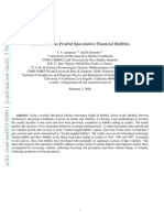 Fearless Versus Fearful Speculative Financial Bubbles0311089v1