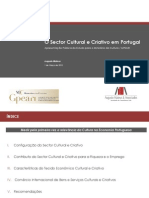 MATEUS - Sector Cultural e Criativo Apresentacao Publica