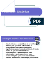 Abordagem Sistêmica-  novo slide