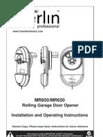 MR850-650 Installation Manual