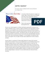 Is Patriotism Good for America