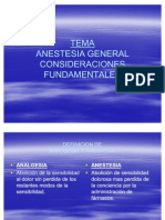 Anestesia General Cf