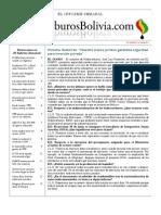 Hidrocarburos Bolivia Informe Semanal Del 20 Al 26 Junio 2011