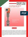 Vazão - Sensor Vortex