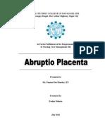43595 Abruptio Placenta