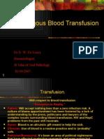 Auto Logo Us Blood Transfusion