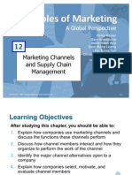Principles of Marketing - Marketing Channels & Supply Chain Management
