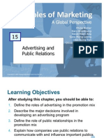 Principles of Marketing - Advertising & Public Relations