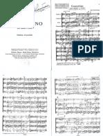 Stravinsky - Concerti No for String Quartet