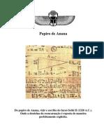 Papiro de Anana _1320 A.C._