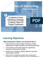 Principles of Marketing - Costumer-Driven Marketing Strategies
