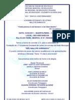 convite FUNDAÇÃO AEL