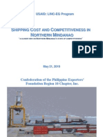 Final Report Shipping Costs and Competitiveness in Northern Mindanao
