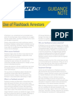 WSACT GN 0022 - Use of Flashback Arrestors