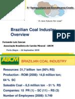 Brazilian Coal Industry Overview