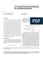 Predicting HT During Flow Boilng in Mini Channels & Micro Channels