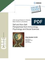 Self and NonSelf Brochure 2010