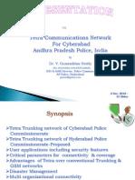 TETRA Network in Cyberabed