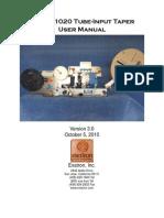 Model 1020 Manual