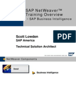 SAP NetWeaver Training Overview - SAP Business Intelligence