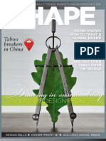SCA Magazine SHAPE 2 2011 focuses on sustainability in the design process